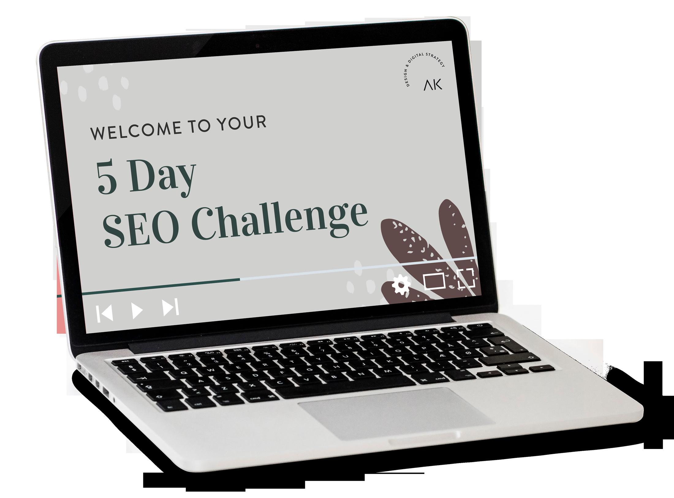 5 Day SEO Challenge