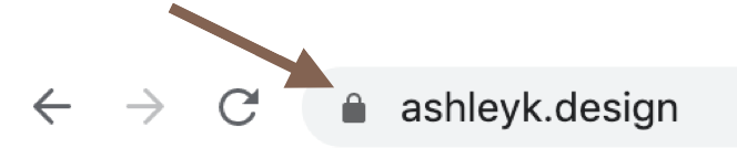Having a lock icon next to your website is an SEO must-do!