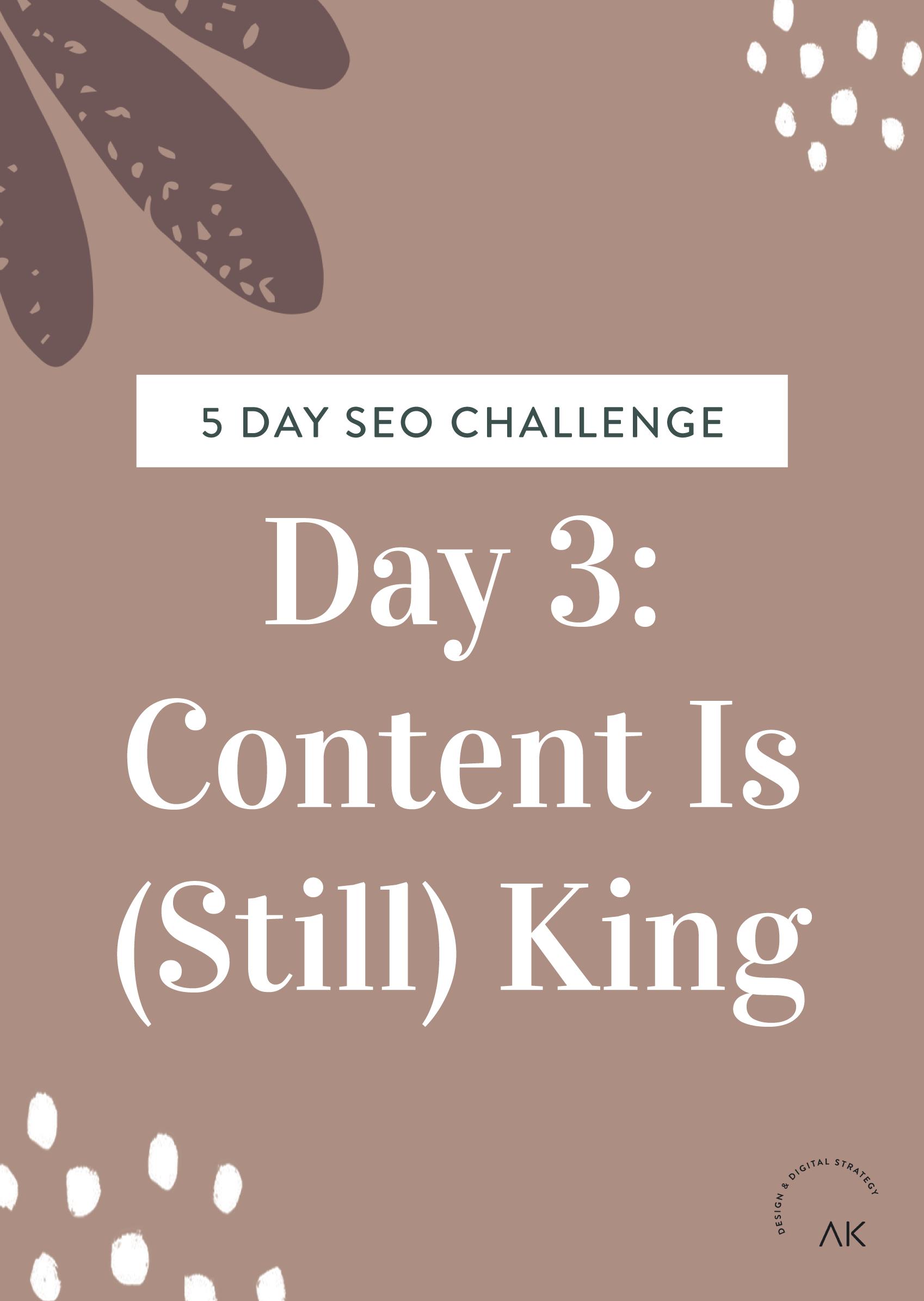 SEO Challenge Day 3